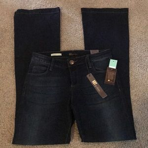 Kut from the Kloth Dark Flare Jeans, 4 NWT